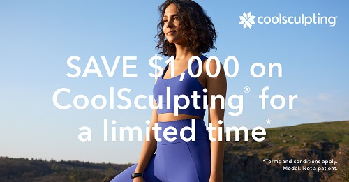 Visit Newport Beach Med Spa to eliminate stubborn fat with CoolSculpting.