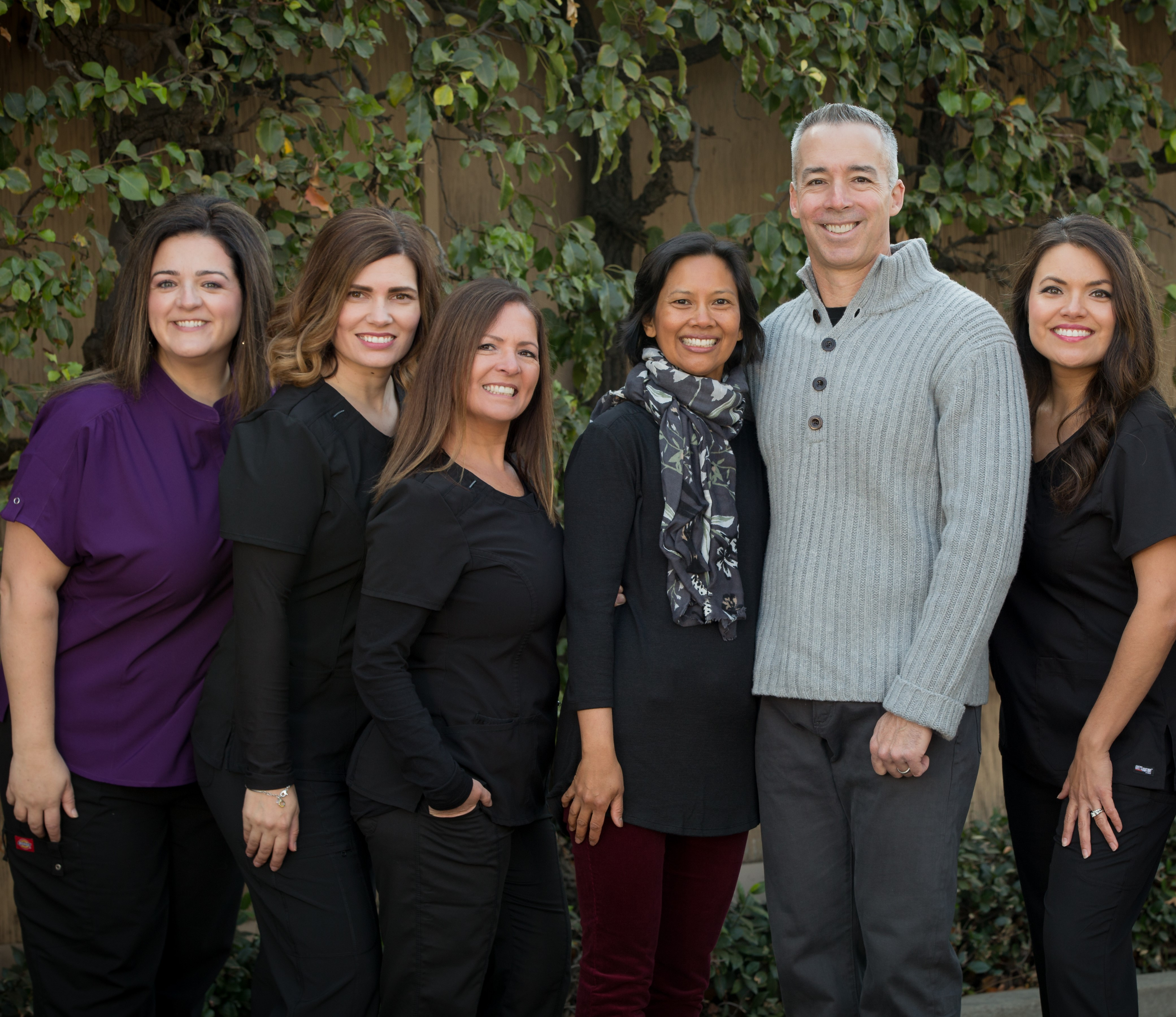 Christopher and Anne Thompson, DDS and their office staff