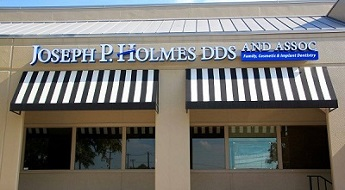 Joseph P. Holmes, DDS side of building