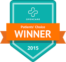 Opencare Patient's Choice 2015 winner