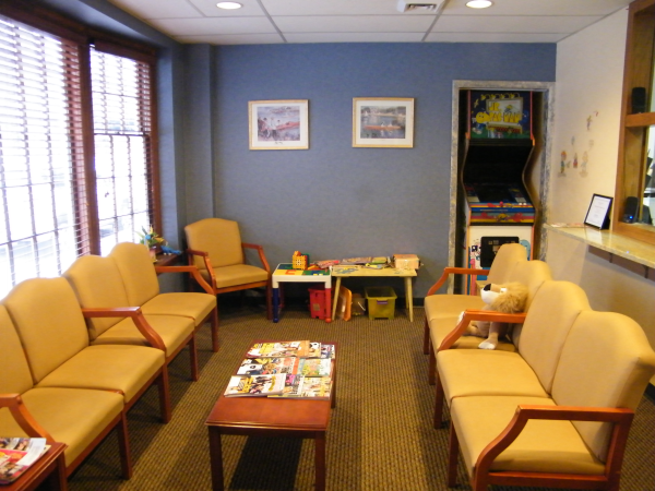 Comprehensive Dental Group's Waiting Room