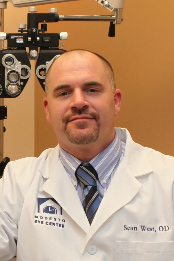 Sean West, OD, optometrist at Modesto Eye Center