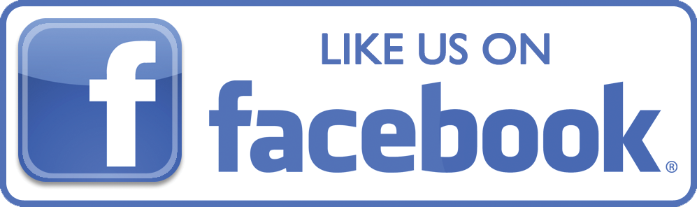 Facebook Logo with the words Like Us on Facebook