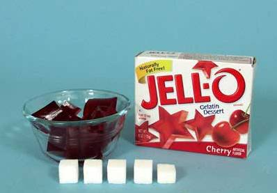 Jello- Sugar Content