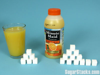 Minute Maid OJ  Sugar Content