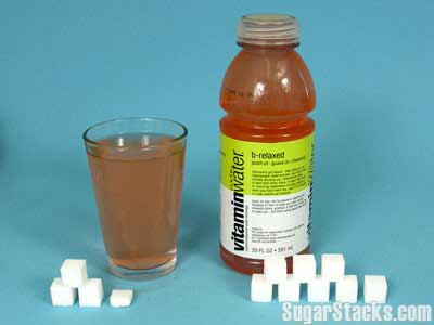 Vitamin Water  Sugar Content