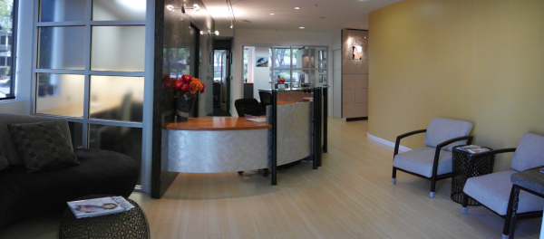 Michael Kriston, DDS - reception area