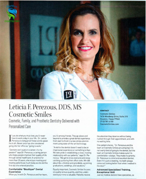 Picture of an article about Dr. Perezous