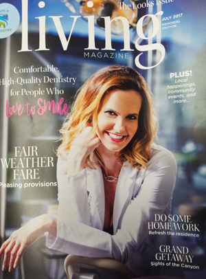 Image of Living Magazine Cover
