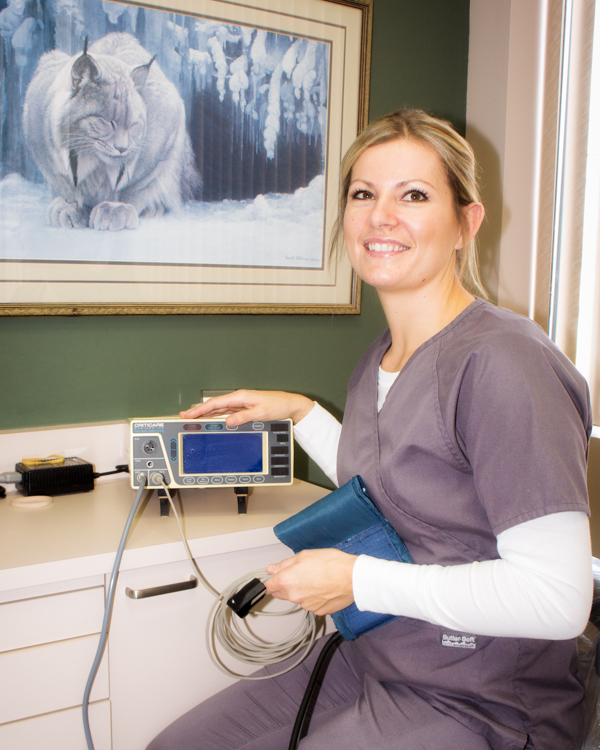 Visit dental assistant, Krystal Sweetwood of Wenatchee Dental Arts for an exam today!