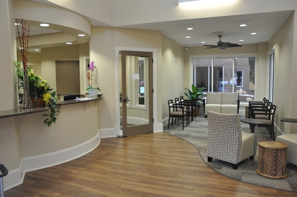 Dental Office Lobby