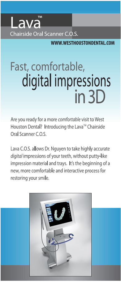 3D Digital Impressions in Houston, Texas at West Houston Dental