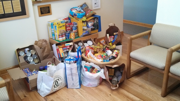 Baptist Family Dental 2013 Food Drive Colletions
