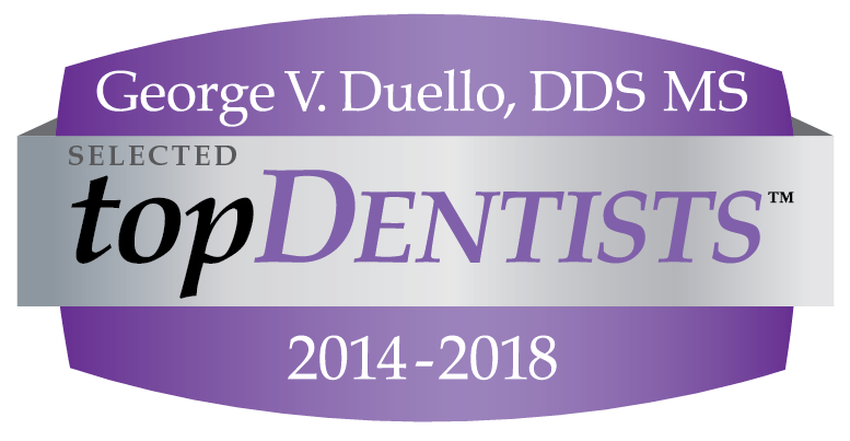 top Dentist logo for years 2014-2018