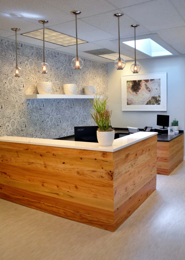 Jones Family Dental Reception Area