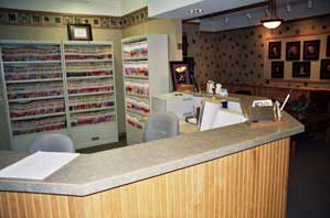 front desk elbow lake alexandria dentist office