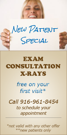 New Patient Special, Free exam, consultation & x-rays for new patients