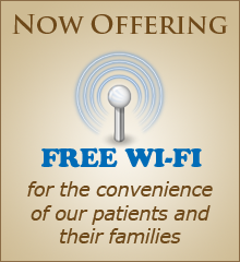 Dr. Brian Orcutt now offers free wi-fi in his Fair Oaks dentist office for patients and their families