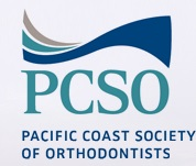 Pacific Coast Society of Orthodontists organizational logo website button