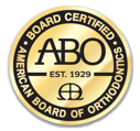 American Board Of Orthodontics Certified Seal & Logo