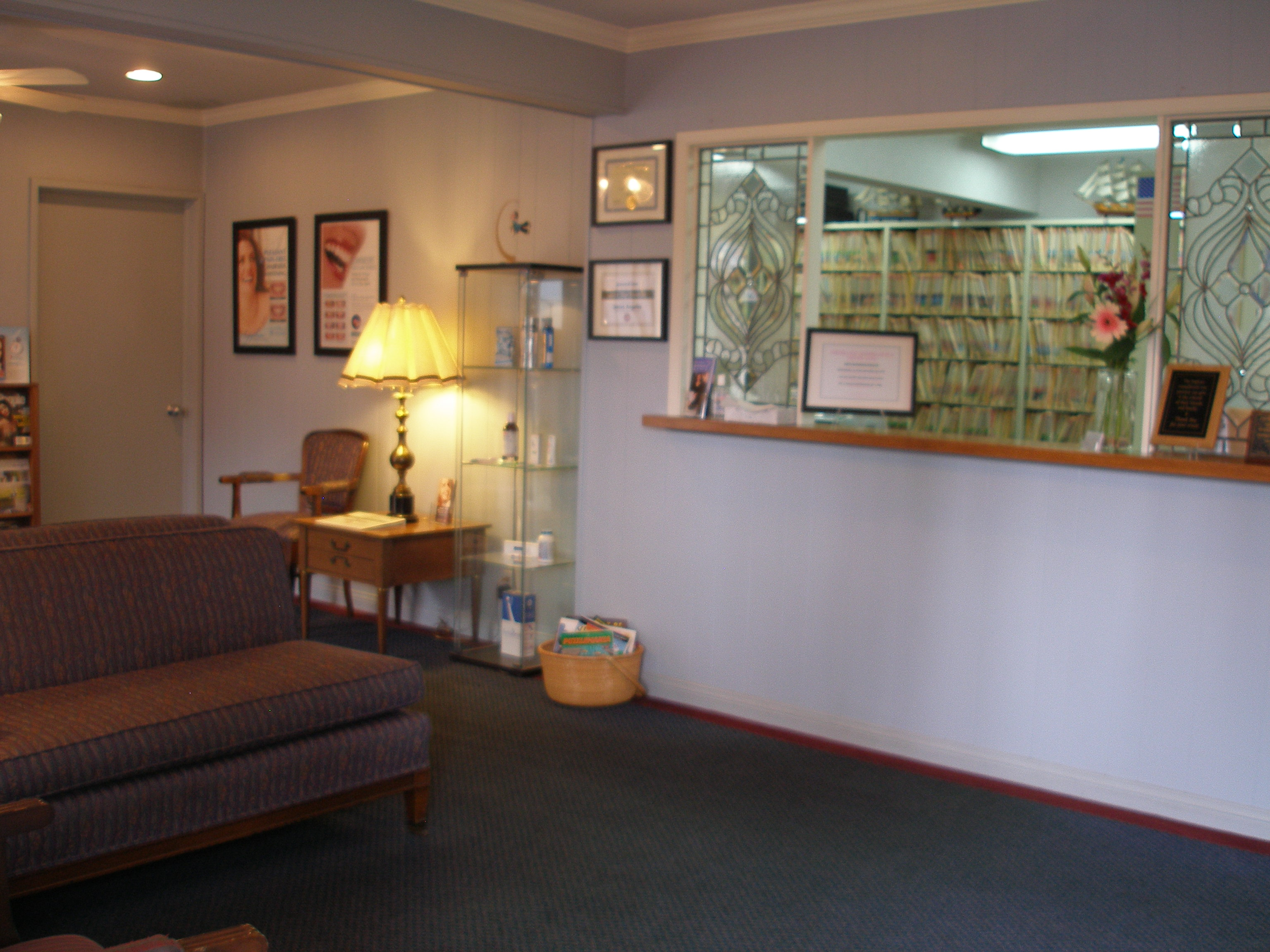 Dr. James Angelos, Cosmetic Dentist, Pasadena, Reception Room 1