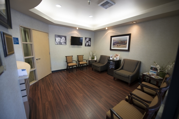 Image of waiting room at Bollinger Canyon Dental, San Ramon, CA