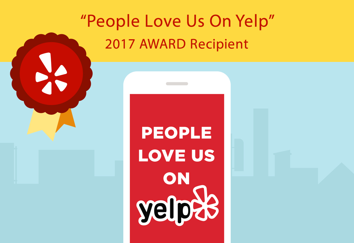 2017 Award Recipient on Yelp
