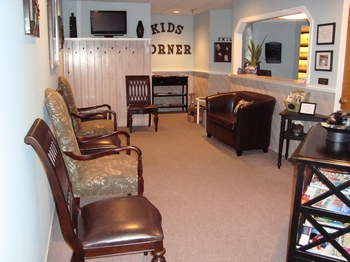 Waiting area at Westford Dental Practice