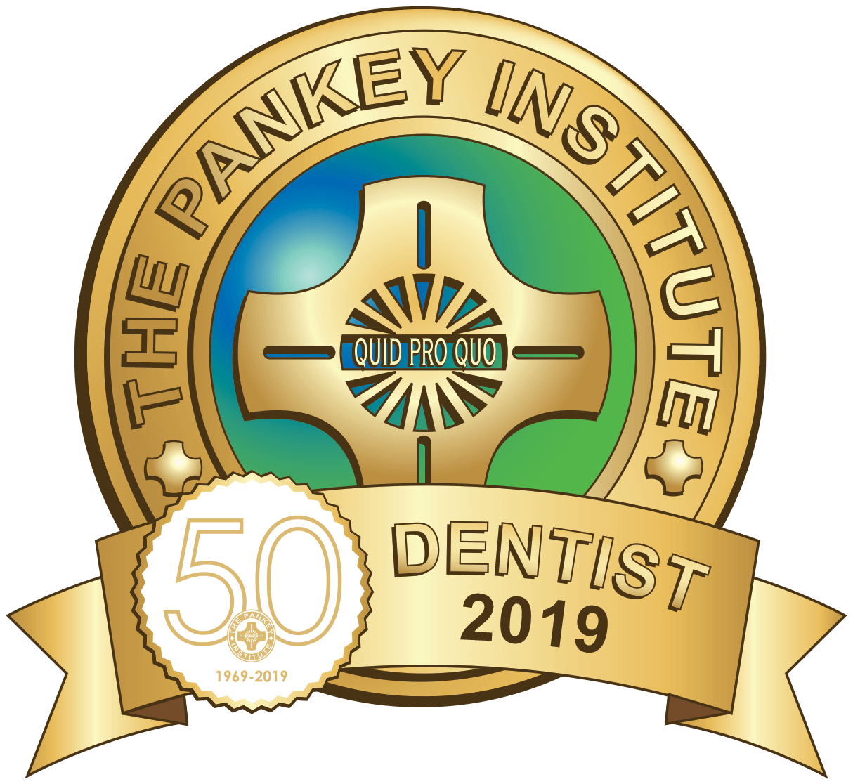 the pankey institute dentist award