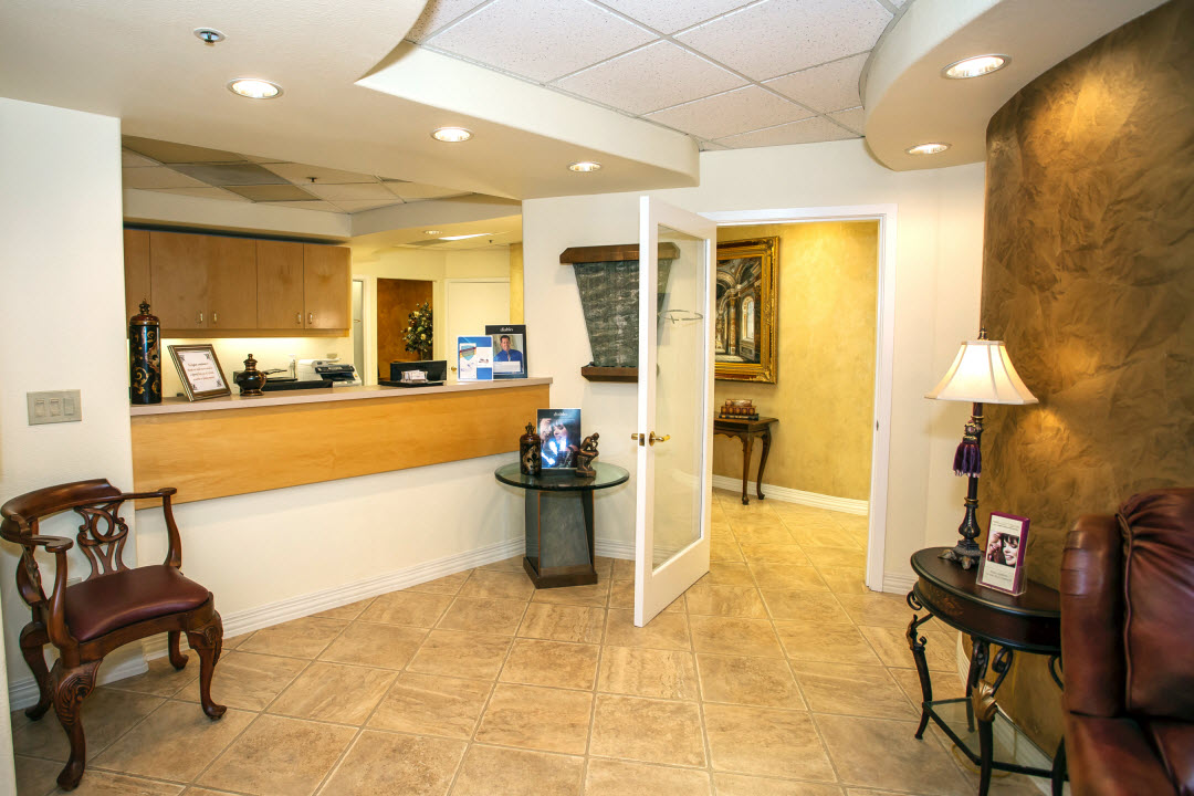 Reception Area at Dr. Christopher Pescatore's Dentistry