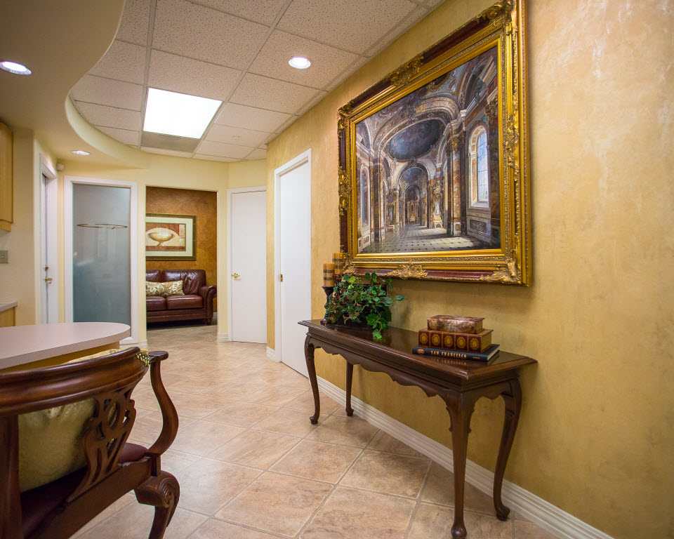 Lobby of Dr. Christopher Pescatore's Dentistry