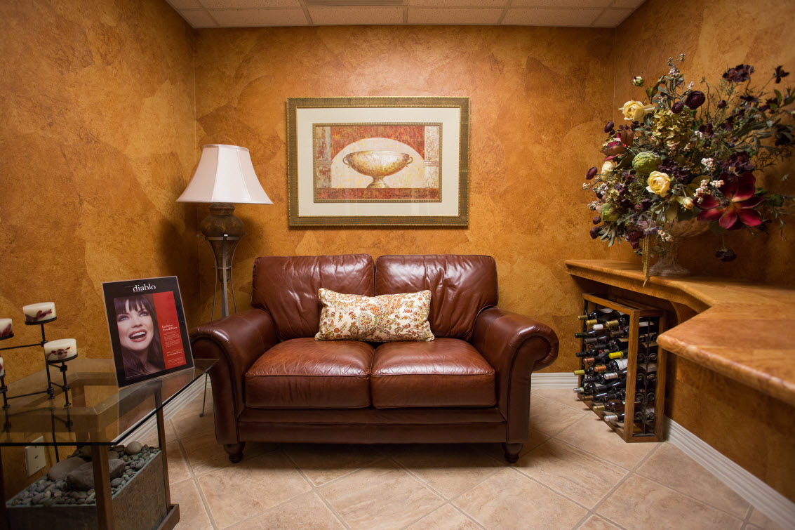 Relaxation Area at Dr. Christopher Pescatore's Dentistry