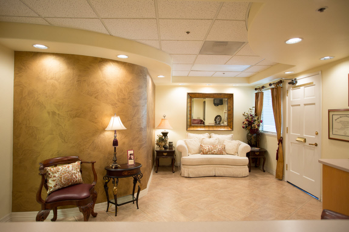 Lounge Area at Dr. Christopher Pescatore's Dentistry