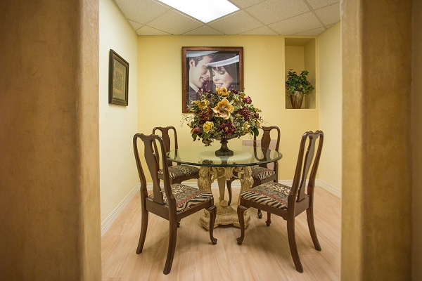 dental office waiting area in danville california