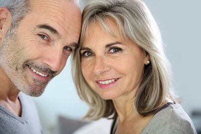 Portrait of cheerful senior couple enjoying life