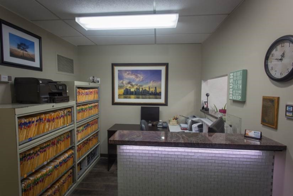 Reception | Help Desk | Kay Family Dentistry