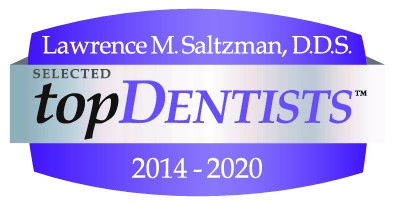 Lawrence M. Saltzman, DDS selected Top Dentist 2014 through 2020
