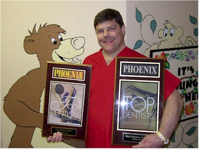 Rick Meyers, DDS of Wee Care Dental, Phoenix, Arizona.