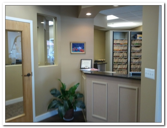 ARLINGTON COMFORT DENTAL Reception Area
