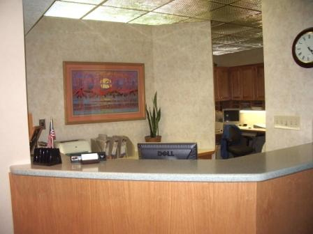 Receptionists Desk Ocala Cosmetic Dentist
