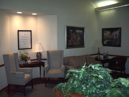 Ocala Dental Office Comfortable Seating