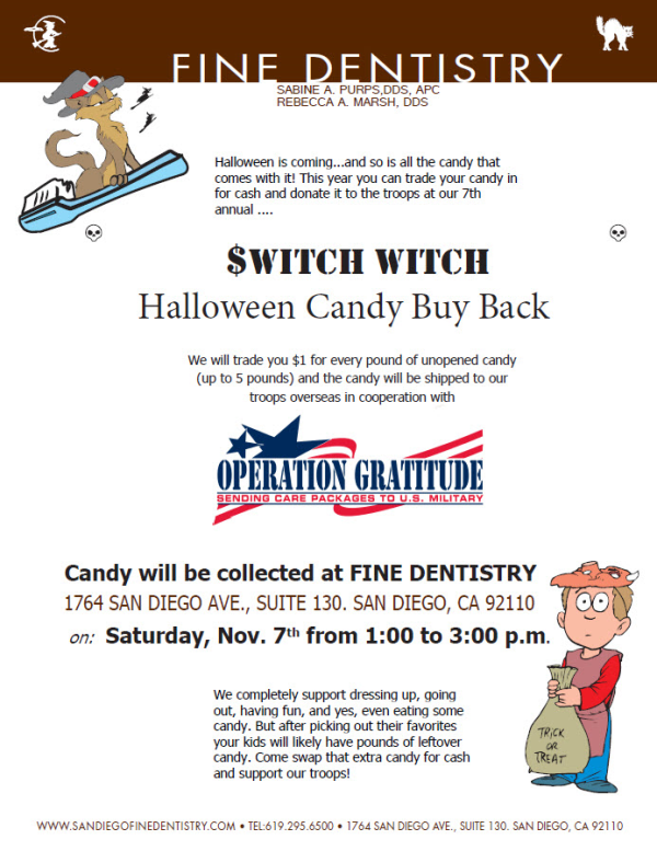 San Diego Halloween Community Event - Fine Dentistry