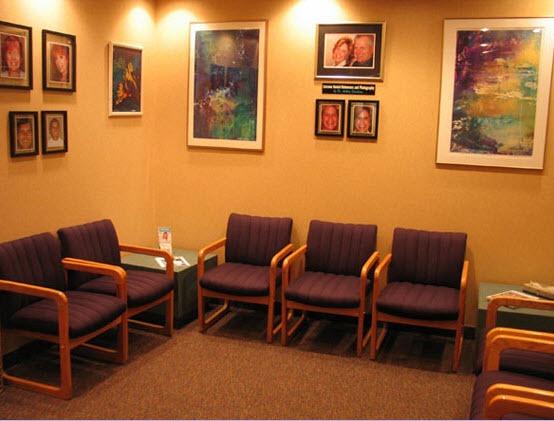 Manchester Dentistry - Dental office waiting room